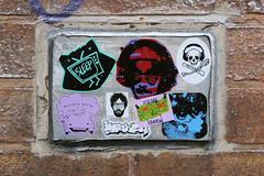 Stickers & Paste (Tim Dennell) Tags: sheffield streetart stickers paste
