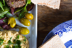 Hummous (PicciaNeri) Tags: middleeast burger chef chickpeas condiment coriander cuisine delicacy delicatessen dish eat eaves falafel food fresh freshness fried gourmet greens healthy herb hoummus hummus ingredient lamb lettuce meat middleeastern natural nutrition oil olives organic oriental salad scent seasoning snack spice spicy