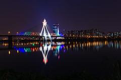 Seoul: The Han River (stuckinseoul) Tags: photo asian  seoul asia sigma2470mmf28exdghsm southkorea city canoneos6d korea capital photograph  river bridge hanriver republicofkorea hangang park iseoulu  i u korean    kr