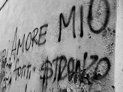 (Luca3803) Tags: italy love hate hatred word words parola parole written streetart blackandwhite black white nero bianco biancoenero graffito scritta scritte odio graffiti amore italia