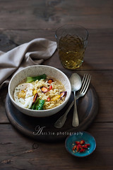 noodle soup (asri.) Tags: 2016 darkbackdrop foodcooked foodstyling foodphotography 85mmf14