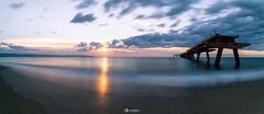 Long exposure panolapse (#Luka#) Tags: long exposure sky sunset sea seascape skyscape sun southern panolapse nikon d750 nisi filter nature beauty beautiful calabria italy pier