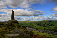"""WAINMANS PINICLE, COWLING, NORTH YORKSHIRE, ENGLAND. (ZACERIN) Tags: """"wainmans pinicle"""" """"cowling"""" """"north yorkshire"""" """"england"""" """"civil war"""" """"battle of waterloo"""" """"napoleonic """"zacerin"""" """"pictures wainmans """"towers"""" """"tower"""" """"suttonincraven"""" """"pinicle"""" pinicle monument"""" tower"""" """"2013"""" """"1900"""" """"richard wainman"""" """"lady amcott"""" """"memorial """"cowling pinnacle"""""""