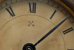 Time to face up to it. Macro Mondays (robbie20161) Tags: clocks clockface macromondays arrow macro hands numerals