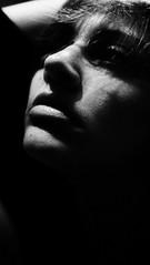 .scars. (Nassia Kapa) Tags: nassiakapa portrait self shadow bw iamlaura psychology photography personal