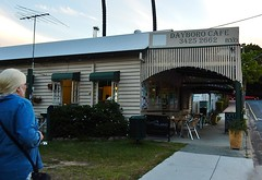 BYO Cafe (mikecogh) Tags: dayboro cafe byo wooden robyn friend antenna