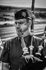 The Piper. (phillconnellphotos) Tags: ifttt 500px one adult man portrait monochrome musician bagpipes piper bagpiper pipes music pipe