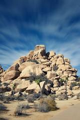 Pile of stones (uhx72) Tags: california unitedstates landscape joshua tree nationalpark sky clouds stone