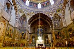 Architecture of the Bedkhem Church (West Sichuan) Tags: iran esfahan bedkhemchurch armenianchurch