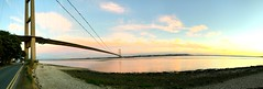 Humber🌊 (Tomoakleyyy) Tags: panoramic humberbridge bridge england sunset uk hessle hull riverhumber humber river