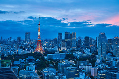 Tokyo City (yiming1218) Tags: 東京 タワー tokyo tower seaside world trade center observatory the 浜松町 magic hour evening glow cityscape city landscape japan 日本 濱松町 世界貿易中心 展望台 blue nightscape sony fe 2470mm gm f28 g master sel2470gm ilce7rm2 a7r2 a7rm2 a7rii architecture building 世界貿易センタービル 世界貿易センター 東京鐵塔 hamamatsucho