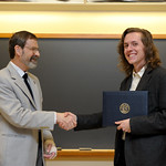 Associate Professor Robert Wickesberg, Ryan Kahle: Distinction in Psychology