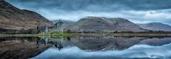 Cipher (rgcxyz35) Tags: morning lochs autumn kilchurncastle water glens reflections scotland mountains dalmally lochawe clouds argyllbute
