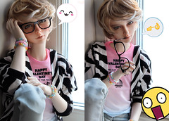 Two Sides (Sackielc) Tags: bjd ball jointed doll abjd asian elfdoll vivien dollstown jeremy sd