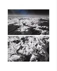 Oltre. (giuliagorla1) Tags: confine neve snow amazing travel nero bianco bw amsterdam roma viaggio alpi oltre