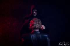 You shall be known as Darth... Vader (Sabrina Franzoni) Tags: star wars toys toy photography hasbro anakin skywalker palpatine darth vader sidious figure collection revenge sith movie black series