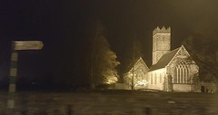 A fleeting glimpse of history (at night).. (Michael C. Hall) Tags: abbey adare historic church
