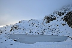 Laguna de Pealara (alberto vtr) Tags: laguna de pealara rascafria madrid montaa sierra guadarrama nieve montain snow comunidad hielo nikon d5300 refugio zabala