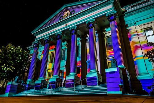 Geelong Town Hall Xmas Projections-7