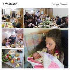 Annabelle's First Thanksgiving (genesee_metcalfs) Tags: collage thanksgiving family fun love dinner food turkey granddaughter daughter baby friends niece cousins daughterinlaw son appetizer meat cheese vegetables shrimp eggs crackers october olives pickle