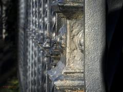 Zaun (Knalltakterfahrer) Tags: zaun perspektive