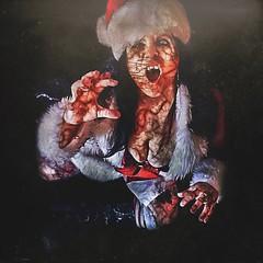 zombie santa :) (Kat McClelland) Tags: surreal costume christmas horror zombie holidays santa red