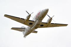 Life Flight, British Aerospace Jetstream Super 31 (twin-turboprop) ZK-LFW, Napier Airport, Hawkes Bay, NZ - 10/12/16 (Grumpy Eye) Tags: nikon d7000 nikkor 300mm 28 life flight napier air ambulance zklfw