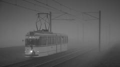 2 Hauptbahnhof (micagoto) Tags: potsdam vip glühweinexpress tram strasenbahn 2 177 gotha gelenkwagen fog nebel