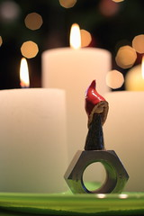 Last Christmas - Letzte Weihnacht (honiigsonne) Tags: christmas angel christmastree christmastime weihnachten weihnachtszeit engel weihnachtsengel weihnachtsbaum heiligabend feiertag advent adventszei feiertage weihnacht candle wicht kobolt kerze bokeh