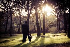Walk with me (FaniTorres) Tags: montevaldelatas madrid dadyandme spain monte atardecer sunset silhouette supershot stillness loveyoudad walkwithme outdoors airelibre landscape magicmoments firststeps primerospasos momentosmgicos