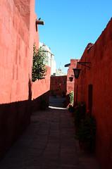 Street in the Santa Catalina Monastery (chamer80) Tags: peru arequipa monastery southamerica santacatalina