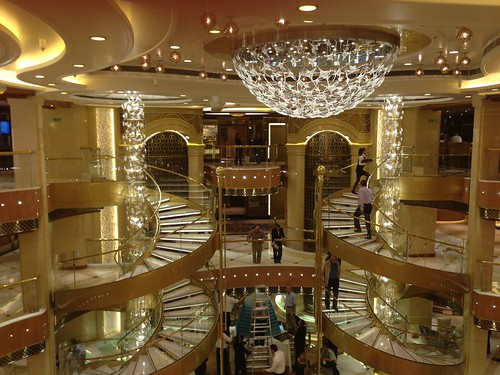 Atrium of the Royal Princess