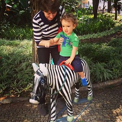two zebras (asleeponasunbeam) Tags: grandmother zebra chico lambelambe parquemunicipal