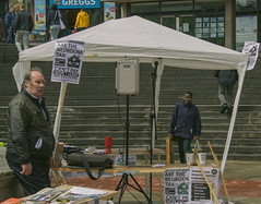 (Chris-Jackson) Tags: life city summer people cold rain town bedroom birmingham live protest tax edl