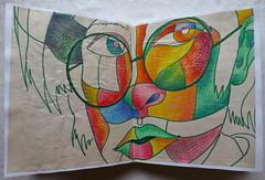 Christian Montone 2013 Sketchbook May - June 7 (Christian Montone) Tags: art portraits artwork faces drawings sketchbook heads sketches montone christianmontone