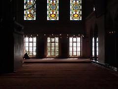 Religious reflection (Carine&Tom) Tags: turkey worship religion praying trkiye istanbul mosque turquie bluemosque prayers masjid quran mosque camii coran  sultanahmetcamii  mosquebleue sultanahmedmosque trkiyecumhuriyeti
