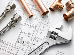 Plumbing Contractor (jasonthompson491) Tags: color colour building industry horizontal diy plumbing pipe plan tools equipment blueprint copper plumber trade piping overhead joint wrench homeimprovement doityourself career profession adjustablespanner adjustablewrench flexiblehose