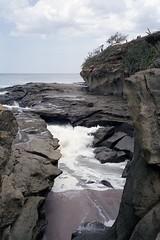 Amarillo Rocks (WideAngleWandering) Tags: nicaragua fuji400h playaamarillo