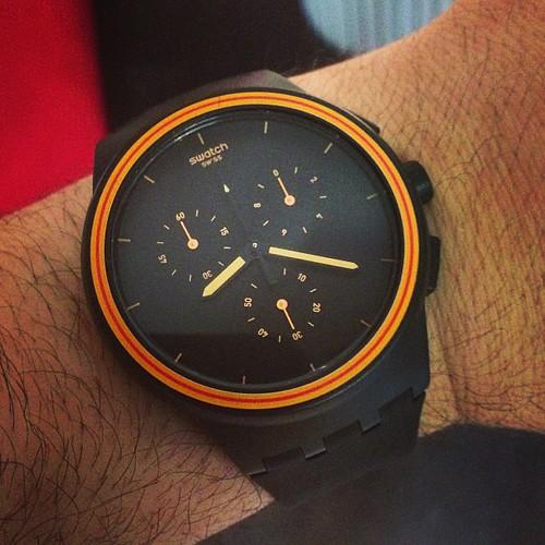 Swatch X chronograph #watch #w