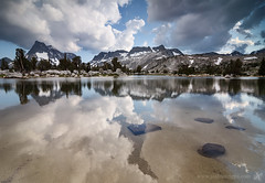 The Reason (Joshua Cripps) Tags: reflection clouds mt thunderstorm davis tarn anseladamswilderness easternsierra tokina1224mm bannerpeak indurotripod leegndfilters nikond7000 acratechballhead