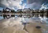 The Reason (Joshua Cripps) Tags: reflection clouds mt thunderstorm davis tarn anseladamswilderness easternsierra tokina1224mm bannerpeak indurotripod leegndfilters nikond7000 acratechballhead