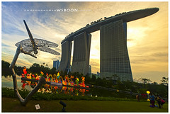 Sunset @ Garden By The Bay_Panorama_1485 (wsboon) Tags: city travel cruise light sky holiday color tourism water architecture clouds composition buildings relax corporate design photo google search nikon singapore asia exposure cityscape view nocturnal skyscrapers heart perspective visit tourist calm explore photograph land destination serene cbd pimp nocturne dri singapura centralbusinessdistrict blending singaporecityscape masteratwork uniquelysingapore singaporecity peopleculture d700 singaporecruise singaporelandscape nocommentsimplyperfectsingaporeview