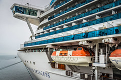 Princess Cruises - Diamond Princess docked at Canada Place Vancouver BC Canada (mbell1975) Tags: ocean ca cruise sea canada water vancouver bay boat dock ship bc waterfront place princess britishcolumbia columbia terminal canadian line diamond british passenger van docked canadaplace strait cruises cruiseline