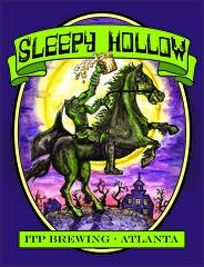 Sleepy Hollow (Ryan GoldLion) Tags: horse art halloween beer illustration headless ink watercolor painting design graphic label ghost seasonal spooky sleepy hollow horseman