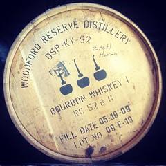 Oh, Woodford. (little_dynamite) Tags: cameraphone travel kentucky barrel roadtrip bourbon distillery bourbontrail iphone woodfordreserve instagram birthdaybourbonroadtrip