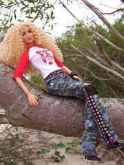 Shakira after Rockin' Concert (Dollytopia) Tags: wild celebrity nature hair concert doll barbie curly idol lea kayla shakira rockin popstar
