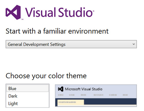 Visual Studio 2013 color theme