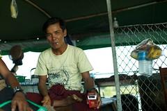 Portrait (Yoann Gruson-Daniel) Tags: pictures trip portrait people water canon river boat photo eau photos buddha cigarette daniel buddhist flag union picture delta 5d myanmar ethnic burmese birma indigenous irrawaddy birman birmano cigaret birmanie yoann indigene  birmania mianmar  2013 ethnique bamar  indigne ayeyarwady   gruson ygd barma  mianm      birmanya    mjanmar mjanmarsko pa  grusondaniel