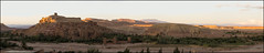 Fire in the mountains (Ciao Anita!) Tags: friends sunset panorama mountains zonsondergang tramonto morocco atlas marocco photomerge bergen hm montagna unescoworldheritage marokko crepuscolo kasbah atlante kasba aitbenhaddou kashba theperfectphotographer soussmassadara unescowerelderfgoedlijst unescopatrimoniodellumanit fotoworkshopnl