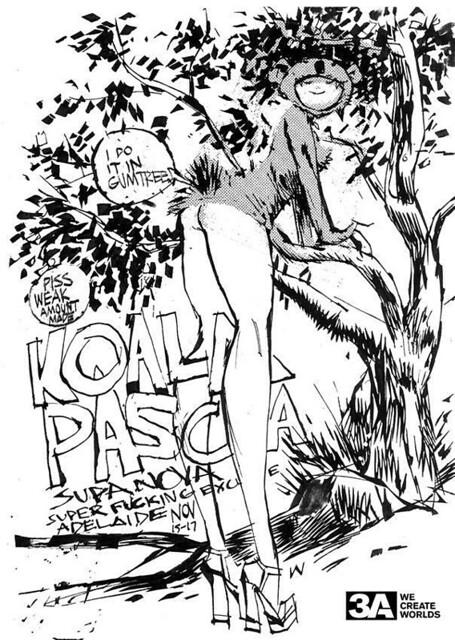 "threeA – Adventures of Isobelle Pascha 系列 ""Ohala Bear"" 性感無尾熊限定"